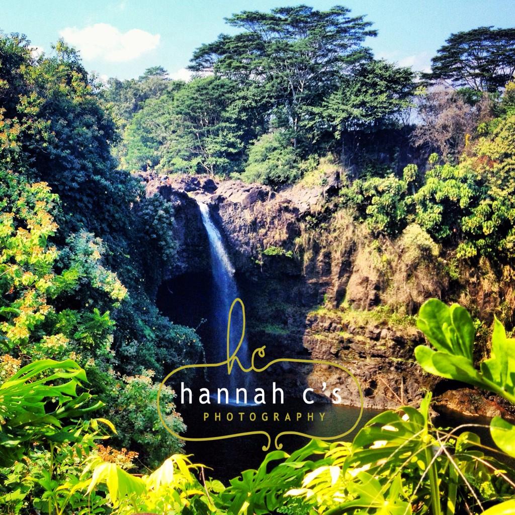 Rainbow Falls Hilo Big Island Photographer Hawaii