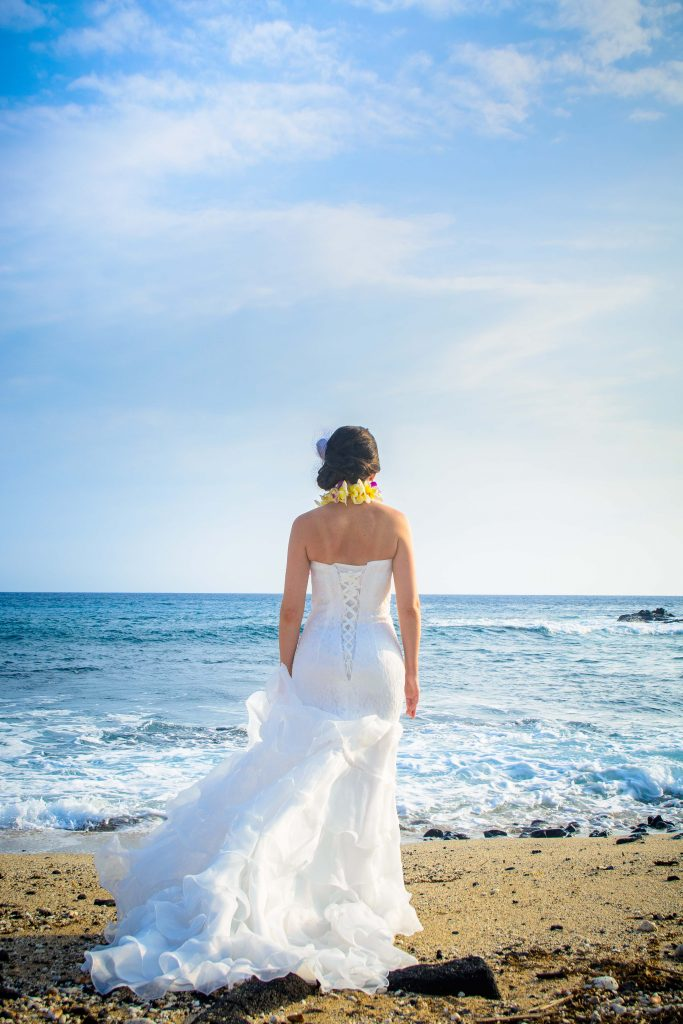 Old Kona Wedding Bridal Portrait Photographer