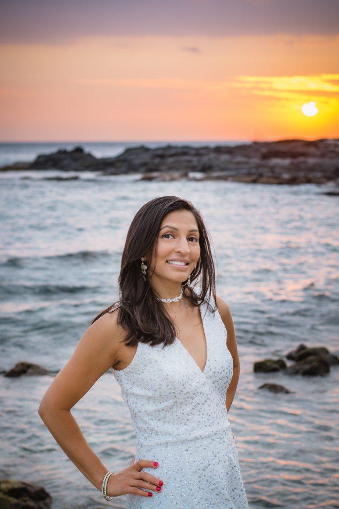 Woman's Portrait, Beach, Photography, Big Island