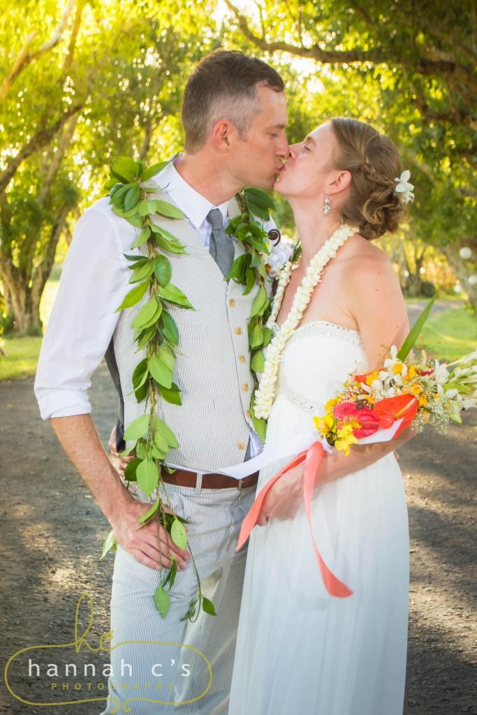 Big Island Eco Ranch Wedding Photographer