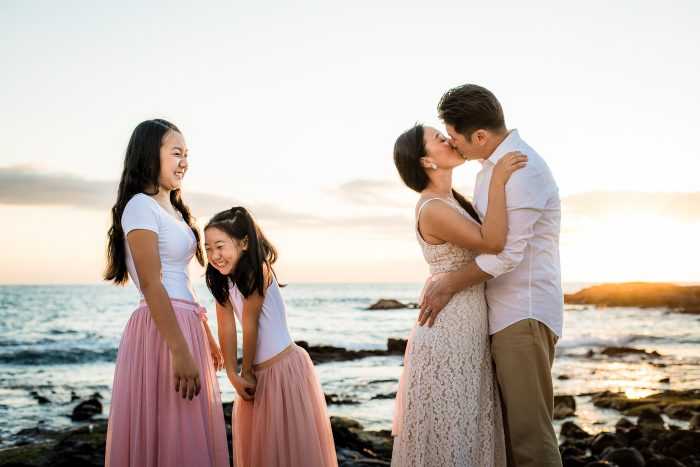 old airport beach, family photographer, hawaii, kona