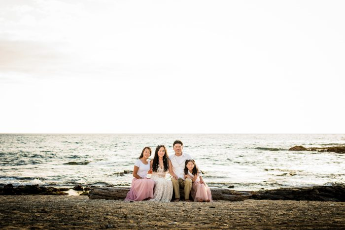 old kona airport beach, family, photography, big island, hawaii, kiss