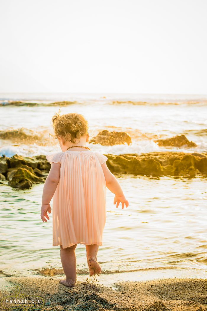 baby, sunset, mauna lani resort, big island