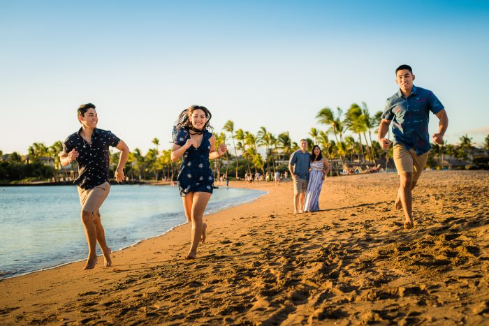 Anaehoomalu Bay, waikoloa, beach, family photography, hawaii